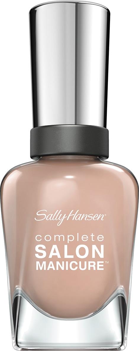 Sally Hansen Salon Manicure Keratin Лак для ногтей тон caf au lait 220 14,7 мл30994236220Комплекс Complete Salon Manicure сочетает семь эффектов в одном флаконе, плюс кисточку для безукоризненного покрытия, легкого нанесения и салонных результатов. Эта формула всё-в-одном обеспечивает до 10 дней устойчивого к сколам покрытия и включает основу, средство для роста, вдохновленный подиумом цвет, топ, финишное покрытие с гелевым сиянием, устойчивость к сколам и укрепляющее средство с кератиновым комплексом, делающим ногти до 64% сильнее. Это всё, что вам нужно, чтобы достичь профессиональных результатов при окрашивании ногтей на дому!