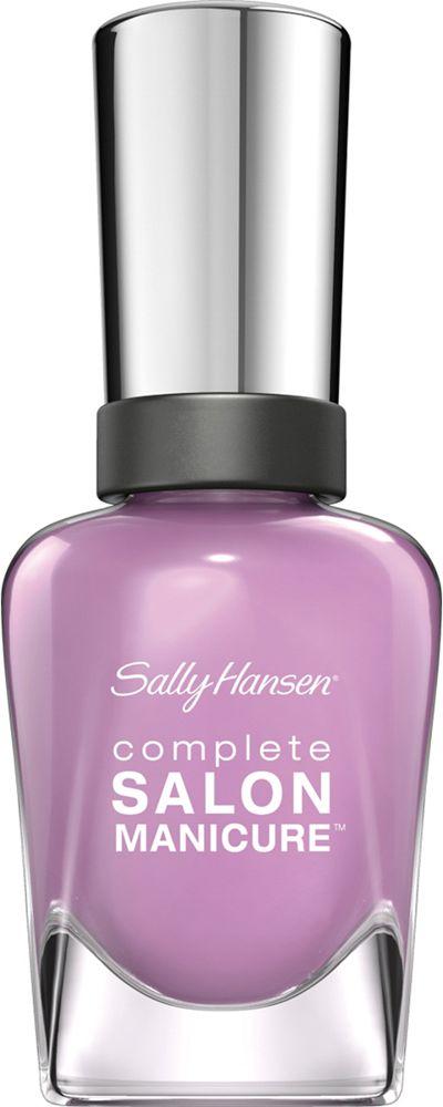 Sally Hansen Salon Manicure Keratin Лак для ногтей тон purple heart 406 14,7 мл30994236406Комплекс Complete Salon Manicure сочетает семь эффектов в одном флаконе, плюс кисточку для безукоризненного покрытия, легкого нанесения и салонных результатов. Эта формула всё-в-одном обеспечивает до 10 дней устойчивого к сколам покрытия и включает основу, средство для роста, вдохновленный подиумом цвет, топ, финишное покрытие с гелевым сиянием, устойчивость к сколам и укрепляющее средство с кератиновым комплексом, делающим ногти до 64% сильнее. Это всё, что вам нужно, чтобы достичь профессиональных результатов при окрашивании ногтей на дому!