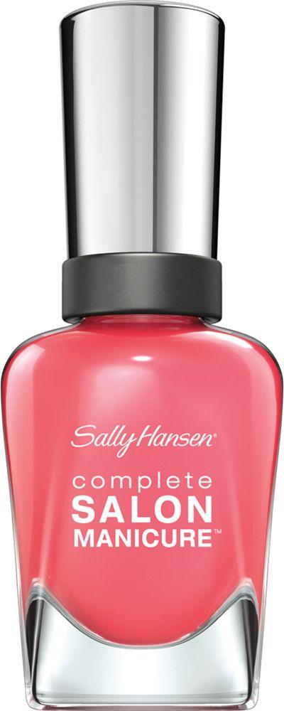 Sally Hansen Salon Manicure Keratin Лак для ногтей тон get juiced 546 14,7 мл30994236546Комплекс Complete Salon Manicure сочетает семь эффектов в одном флаконе, плюс кисточку для безукоризненного покрытия, легкого нанесения и салонных результатов. Эта формула всё-в-одном обеспечивает до 10 дней устойчивого к сколам покрытия и включает основу, средство для роста, вдохновленный подиумом цвет, топ, финишное покрытие с гелевым сиянием, устойчивость к сколам и укрепляющее средство с кератиновым комплексом, делающим ногти до 64% сильнее. Это всё, что вам нужно, чтобы достичь профессиональных результатов при окрашивании ногтей на дому!