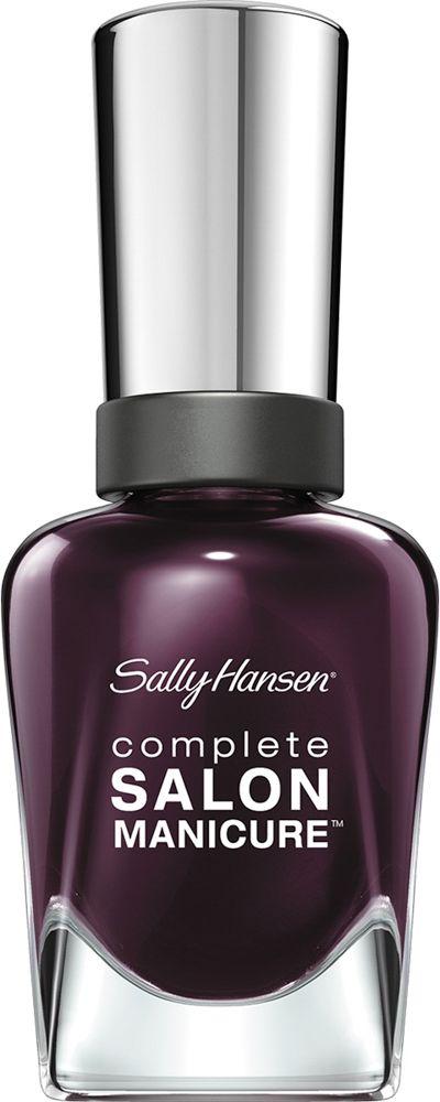 Sally Hansen Salon Manicure Keratin Лак для ногтей тон pat on the black 660 14,7 мл30994236660Комплекс Complete Salon Manicure сочетает семь эффектов в одном флаконе, плюс кисточку для безукоризненного покрытия, легкого нанесения и салонных результатов. Эта формула всё-в-одном обеспечивает до 10 дней устойчивого к сколам покрытия и включает основу, средство для роста, вдохновленный подиумом цвет, топ, финишное покрытие с гелевым сиянием, устойчивость к сколам и укрепляющее средство с кератиновым комплексом, делающим ногти до 64% сильнее. Это всё, что вам нужно, чтобы достичь профессиональных результатов при окрашивании ногтей на дому!