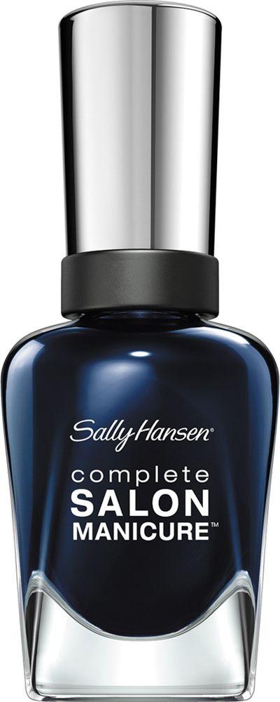 Sally Hansen Salon Manicure Keratin Лак для ногтей тон nightwatch 674 14,7 мл30994236674Комплекс Complete Salon Manicure сочетает семь эффектов в одном флаконе, плюс кисточку для безукоризненного покрытия, легкого нанесения и салонных результатов. Эта формула всё-в-одном обеспечивает до 10 дней устойчивого к сколам покрытия и включает основу, средство для роста, вдохновленный подиумом цвет, топ, финишное покрытие с гелевым сиянием, устойчивость к сколам и укрепляющее средство с кератиновым комплексом, делающим ногти до 64% сильнее. Это всё, что вам нужно, чтобы достичь профессиональных результатов при окрашивании ногтей на дому!