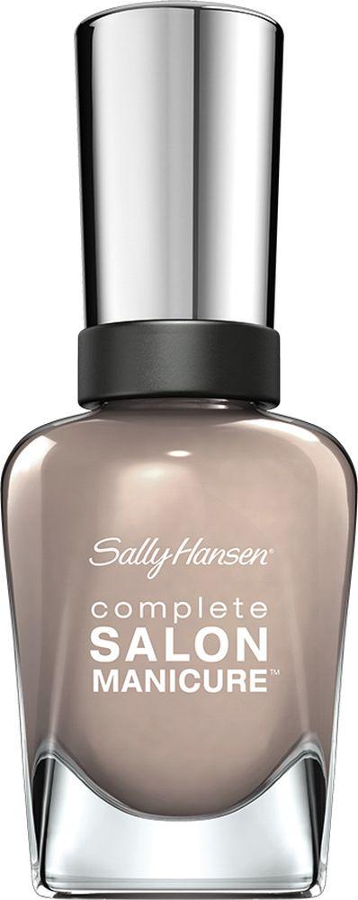 Sally Hansen Salon Manicure Keratin Лак для ногтей, тон seal of approval30995495375Комплекс Complete Salon Manicure сочетает семь эффектов в одном флаконе, плюс кисточку для безукоризненного покрытия, легкого нанесения и салонных результатов. Эта формула всё-в-одном обеспечивает до 10 дней устойчивого к сколам покрытия и включает основу, средство для роста, вдохновленный подиумом цвет, топ, финишное покрытие с гелевым сиянием, устойчивость к сколам и укрепляющее средство с кератиновым комплексом, делающим ногти до 64% сильнее. Это всё, что вам нужно, чтобы достичь профессиональных результатов при окрашивании ногтей на дому!