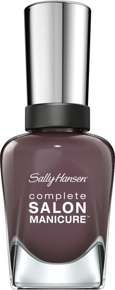 Sally Hansen Salon Manicure Keratin Лак для ногтей, тон talk is chic30995495445Комплекс Complete Salon Manicure сочетает семь эффектов в одном флаконе, плюс кисточку для безукоризненного покрытия, легкого нанесения и салонных результатов. Эта формула всё-в-одном обеспечивает до 10 дней устойчивого к сколам покрытия и включает основу, средство для роста, вдохновленный подиумом цвет, топ, финишное покрытие с гелевым сиянием, устойчивость к сколам и укрепляющее средство с кератиновым комплексом, делающим ногти до 64% сильнее. Это всё, что вам нужно, чтобы достичь профессиональных результатов при окрашивании ногтей на дому!