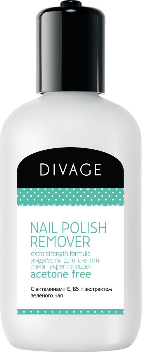 Divage Nail Care Spa - Жидкость для снятия лака с экстрактом зеленого чая