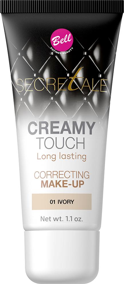 Bell Тональный Крем Кремовый Маскирующий Несовершенства Кожи Secretale Creamy Touch Correcting Make-up, Тон 01BfltcS001Разглаживающий тональный крем, придающий эффект бархатистой кожи. Благодаря кремовой текстуре после применения на коже не остаются разводы, а любые недостатки остаются идеально скрыты. Также устраняет блеск кожи, оставляя ее матовой в течение многих часов. Увлажняющие свойства придают коже естественный, здоровый вид без эффекта маски