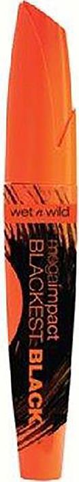 Wet n Wild Тушь Для Ресниц Mega Impact E1511 blackest black тушь beauty queen для объема ресниц be yu