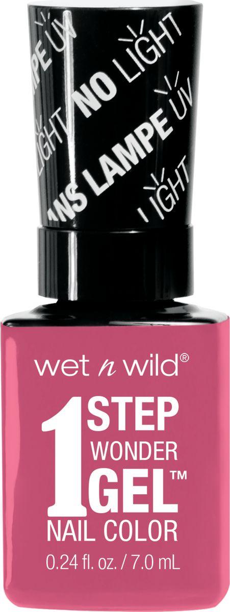 Wet n Wild Гель-лак для ногтей 1 Step Wonder Gel E7222 missy in pinkE7222Лак держится до двух недель. Сохнет без использования ультрафиолетовой лампы, легко удаляется и не повреждает ногтевую пластину, не содержит толуола и фталатов.
