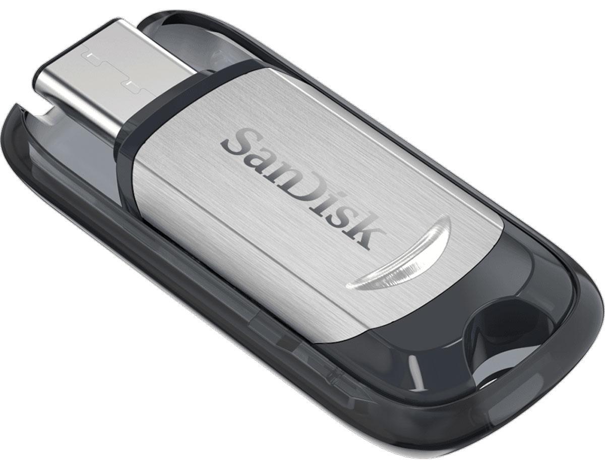 SanDisk Ultra Type-C 64GB, Black Silver USB-накопительSDCZ450-064G-G46USB-флеш-накопитель типа C SanDisk Ultra позволяет освободить место в телефонах, планшетах и компьютерах нового поколения, оснащенных портом USB типа C. Дополнительное место всегда пригодится!USB-флеш-накопитель типа C SanDisk обладает достаточной емкостью для удобного переноса коллекций видео, фотоальбомов, музыкальных библиотек, деловых и учебных документов. Просто подсоедините его - и готово! Это как мгновенное увеличение объема диска.Вы постоянно в движении, и USB-флеш-накопитель SanDisk типа C специально создан для того, чтобы быть всегда под рукой. SanDisk объединили тонкий компактный корпус с выдвижным разъемом, чтобы его можно было повесить на брелок или рюкзак.Разъем USB типа C - двусторонний. Его просто невозможно вставить неправильно. Больше не нужно гадать, правильно или нет.Благодаря интерфейсу USB 3.1 со скоростью чтения до 150 МБ/с USB-флеш-накопители типа C SanDisk предоставляют практически мгновенный доступ к медиафайлам и приложениям на компьютерах и мобильных устройствах. Разъем USB 3.1 обратно совместим с разъемами USB 3.0 и 2.0 типа C.Загрузите приложение SanDisk Memory Zone из магазина Google Play, чтобы следить за доступным объемом памяти и эффективно управлять файлами, хранящимися на планшете или смартфоне с разъемом USB типа C, упорядочивать их и создавать резервные копии.Флеш-накопитель SanDisk тип C совместим и мгновенно готов к работе на компьютерах Windows и Mac на базе Windows Vista, Windows 7, Windows 8, Windows 10 и Mac OS 10.6+ (установка драйверов не требуется).