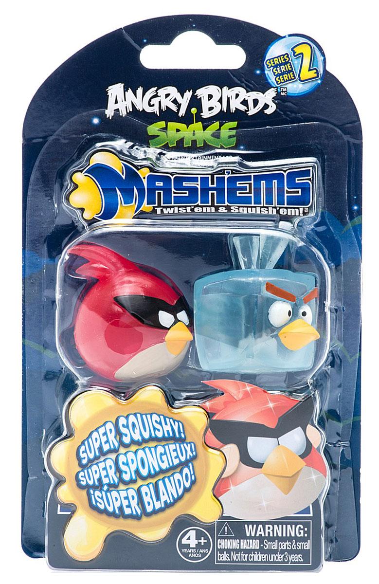 Angry Birds Игрушка-мялка цвет красный голубой 2 шт альфа геймс angry birds набор из 2 ух фигурок