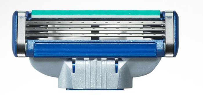 Gillette Mach3 Turbo Cменные кассеты для бритья, 2 шт