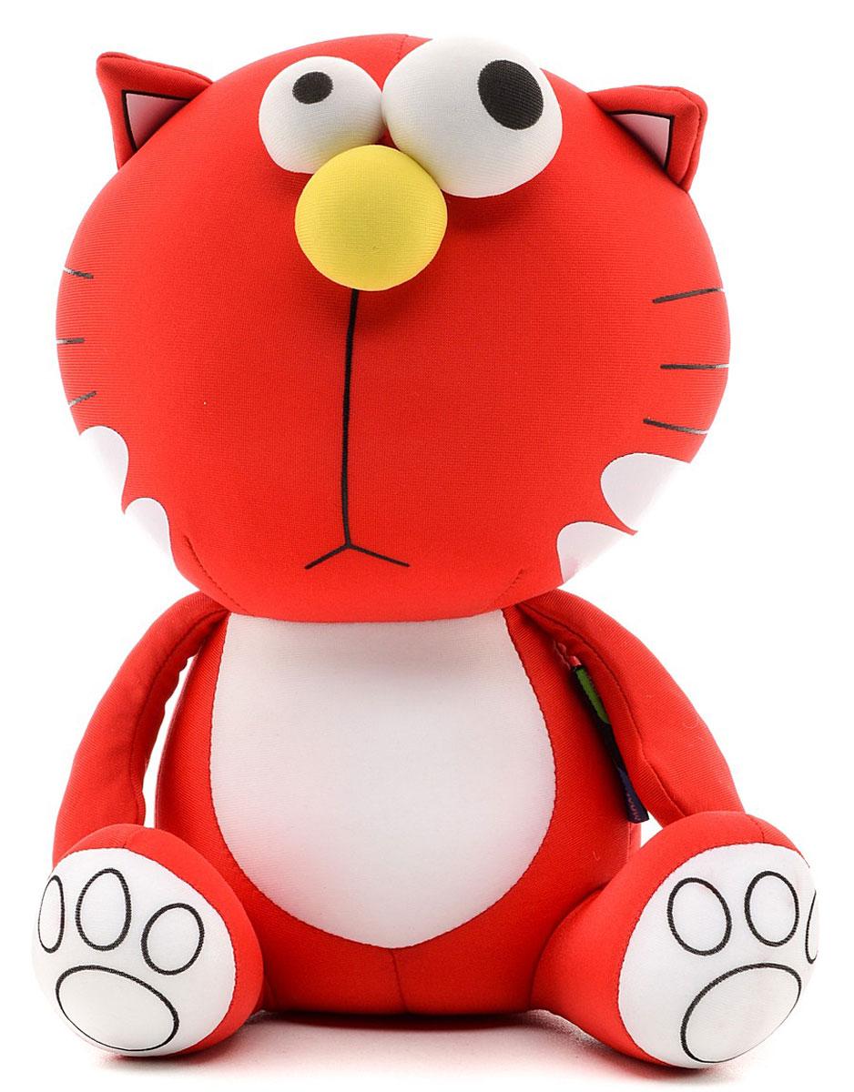 Maxi Toys Мягкая игрушка Кот пучеглазый Печальный maxi toys мягкая игрушка антистресс
