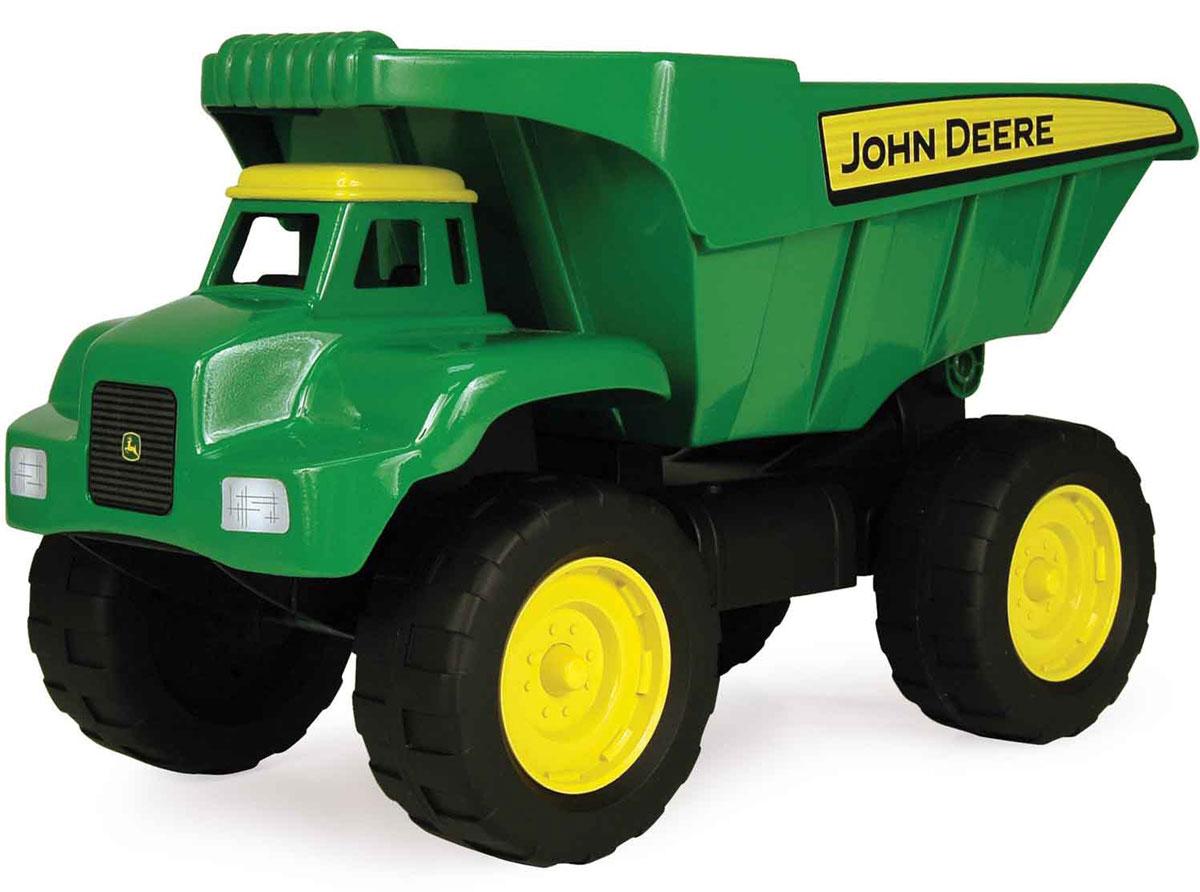 Tomy Самосвал John Deere машины tomy john deere трактор monster treads с большими колесами и вибрацией
