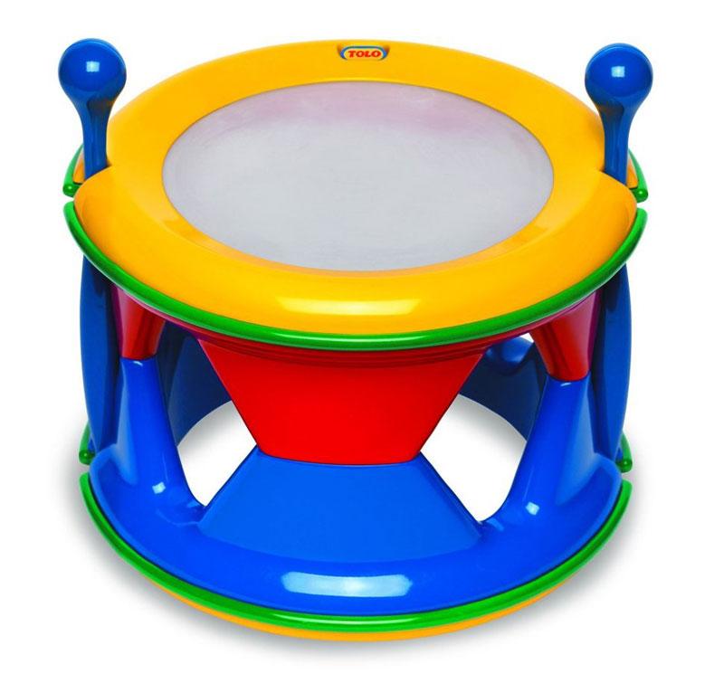 Tolo Барабан игрушки для ванны tolo toys рыбки магнитные