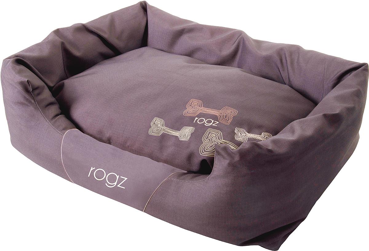 Лежак для собак Rogz Spice Podz, цвет: коричневый, 22 х 56 х 35 см. PPSCEPPSCEЛежак для собак Rogz Spice Podz с бортиком и двусторонней подушкой.Особо прочная ткань Ripstop с водоотталкивающим покрытием обладает также грязеотталкивающими свойствами.Дизайн 2 в 1.Съемный чехол на молнии.Высокая надежность и долговечность.Машинная стирка.