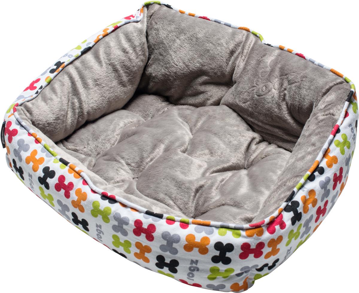 Лежак для собак Rogz Trendy Podz, цвет: белый, 29 х 56 х 43 смRPM03Очень мягкий и комфортный лежак для собак Rogz Trendy Podz.Флисовые бортики внутри изделия.Двусторонняя подушка.Уникальный дизайн.Подвергается стирке.