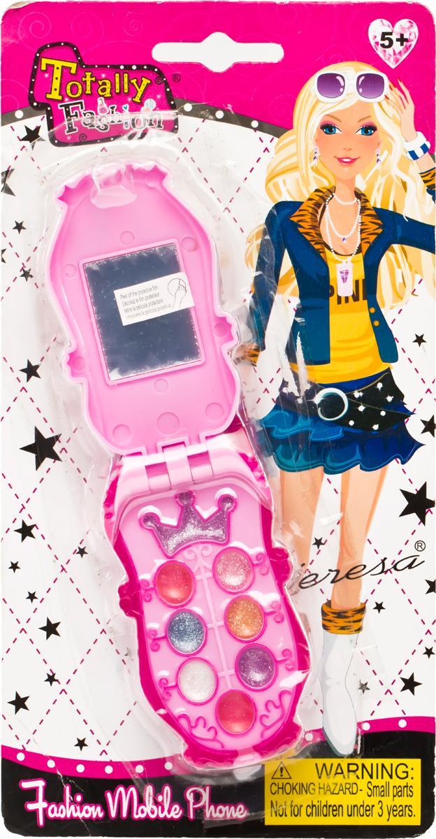 Totally Fashion Набор детской декоративной косметики Телефон21930/ВВ наборе: блеск для губ- 6 тонов, тени- 4 тона, аппликатор с маленькой кисточкок. Имеется ПАСПОРТ БЕЗОПАСНОСТИ МАТЕРИАЛА. Макияж можно снять, с помощью ватного диска, используя средство для снятия макияжа или просто тёплой водой. Для снятия лака не нужны специальные средства: лак постепенно смывается водой, при мытье рук в течение 2-х дней, или же его можно удалить с помощью детского масла.Наверное, каждая девочка завороженно смотрит на маму, когда та красится и приводит себя в порядок. Ведь так хочется быть на нее похожей, быть такой же красивой. С детским набором для макияжа это стало реальностью. В арсенале маленькой модницы тени, аппликатор и блеск для губ - все, чтобы подчеркнуть естественную и натуральную красоту.