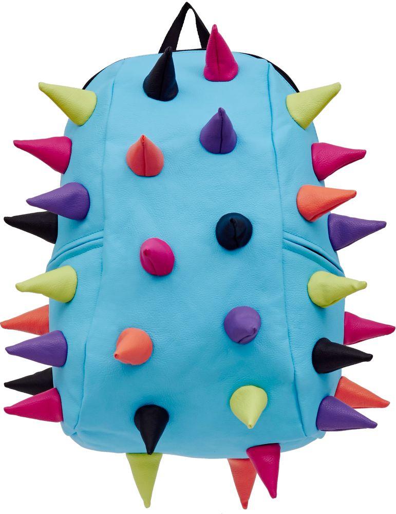 Рюкзак городской MadPax Rex 2 Full Whirpool, цвет: голубой, 32 лKAB24485057Рюкзаки серии Full отлично подойдут для старшеклассников и взрослых. Яркий, с оригинальным 3D дизайном, ортопедической спинкой он станет незаменимым спутником любого школьника и взрослого.Рюкзак MadPax Rex 2 Full Whirpool удобен не только для использования в школе, но и отлично подойдет для катания на роликах, скейтах, велосипедах. Он идеален для всех кто любит активный образ жизни.Все 3D элементы мягкие и вы можете не беспокоится о своей безопасности и безопасности окружающих.Ортопедическая спинка поможет избежать искривления позвоночника. Мягкие воздухопроницаемые широкие лямки (6 см) с нагрудным ремнем правильно распределят вес.Особенности:одно основное отделение на молнииотделение для ноутбука до 17мягкие воздухопроницаемые широкие лямки (6 см)нагрудный ременьортопедическая спинка с мягкой обивкойдва боковых кармана на молнии
