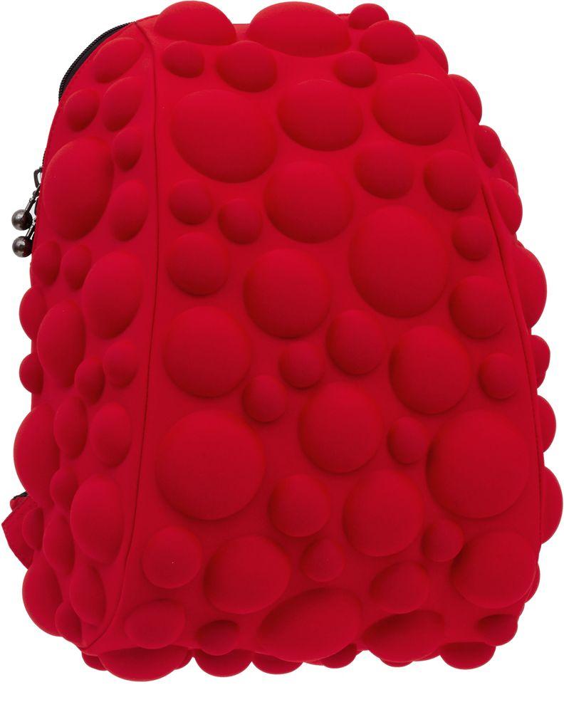 Рюкзак городской MadPax Bubble Half, цвет: красный, 16 лKAB24485070Рюкзаки серии Half отлично подойдут для старшеклассников и младшеклассников. Яркий, с оригинальным 3D дизайном, ортопедической спинкой он станет незаменимым спутником любого школьника.Рюкзак MadPax Bubble Half удобен не только для использования в школе, но и отлично подойдет для катания на роликах, скейтах, велосипедах. Он идеален для всех кто любит активный образ жизни.Все 3D элементы мягкие и вы можете не беспокоится о своей безопасности и безопасности окружающих.Ортопедическая спинка поможет избежать искривления позвоночника. Мягкие воздухопроницаемые широкие лямки (6 см) правильно распределят вес.Особенности: одно основное отделение на молнии отделение для ноутбука до 13, iPad'а или формата А4 мягкие воздухопроницаемые широкие лямки (6 см) ортопедическая спинка с мягкой обивкой