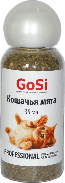 Кошачья мята GoSi, 35 млsh-07082MКошачья мята GoSi (котовник натуральный) положительно влияет на нервную систему животного, улучшает аппетит. В состав растения входит витамин С. Котовник используют для приучения к месту и когтедралке. Повышает внимание к игрушкам.Применение: нанесите небольшое количество мяты на предмет или поверхность для привлечения внимания.