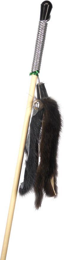 Дразнилка-удочка для кошек GoSi Мышиные хвосты, длина 50 см игрушка для кошек zoobaloo удочка с мышкой длина 40 см