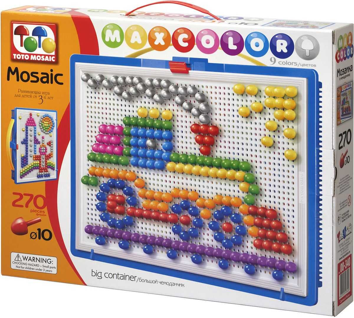 Totomosaic Мозаика Maxcolor Mosaic Веселый паровозик мозаики totomosaic мозаика львенок