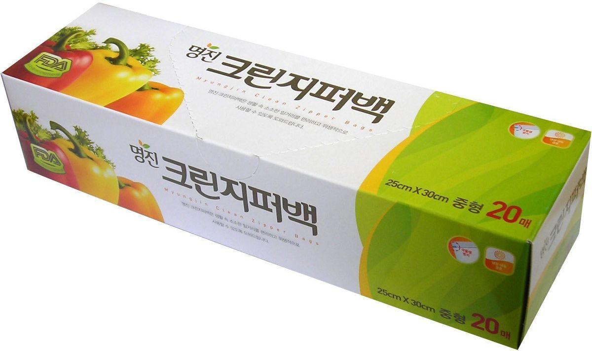 Пакет для хранения продуктов Myungjin Bags Zipper Type, полиэтиленовые, пищевые, с застежкой-зиппером, 18 x 22 см468128Безопасные, удобные и прочные пакеты изготовлены из полиэтилена высокого давления. Пакеты предназначены для хранения пищевых и непищевых продуктов; очень удобны для хранения сыпучих продуктов и мелких бытовых товаров. Могут использоваться как для подогрева продуктов в СВЧ - печи, так и для заморозки. При этом не теряют своих свойств.Преимущества пакетов с застежкой - зиппером:позволяют быстро и герметично упаковывать как пищевые продукты, в том числе жидкие, так и промышленные товары;надолго сохраняют свежесть продуктов и потребительские качества товаров;блокируют проникновение влаги и неприятных запахов;возможность многократного использования.Пакеты упакованы в картонную коробку с отверстием для удобного их извлечения.Меры предосторожности: не подносите близко к огню. Храните в труднодоступных для детей местах. Острые предметы или инструменты могут повредить пакет. Если продукт в пакете содержит большое количество жира, не разогревайте его в микроволновой печи. Не подвергайте воздействию температур ниже -100°С.
