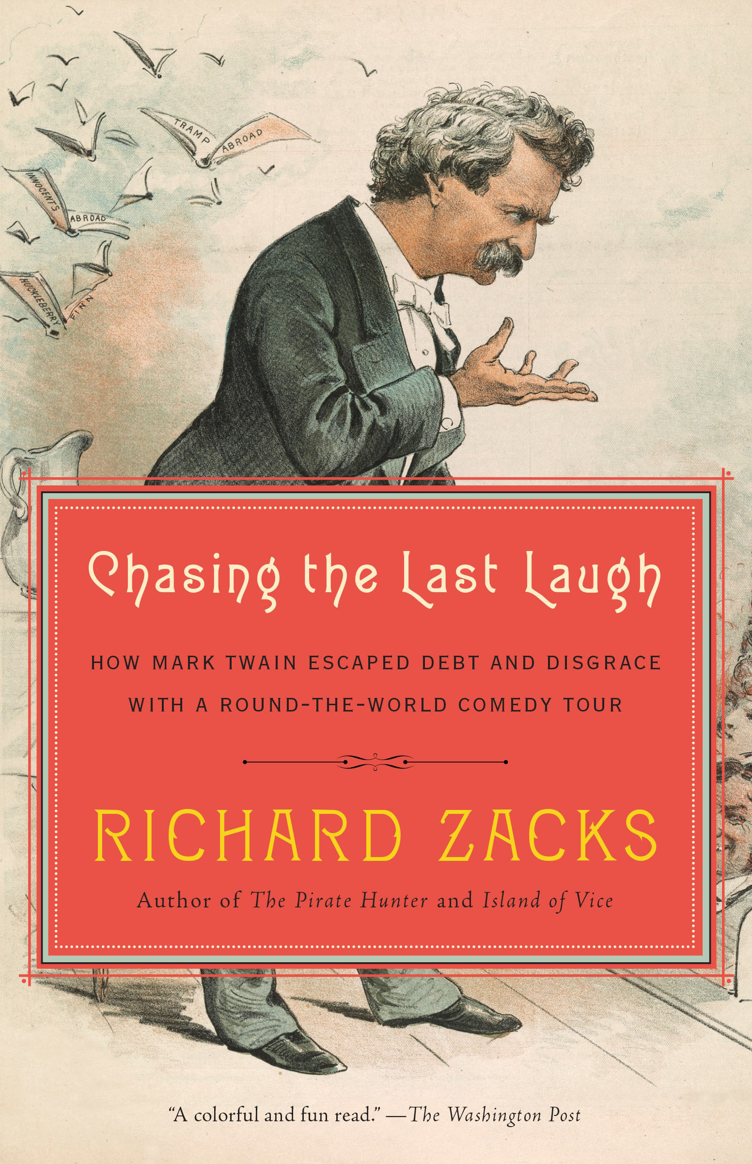 Chasing the Last Laugh twain m letters from the earth a shot story