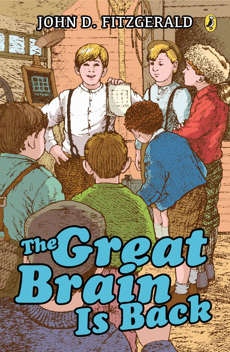 The Great Brain Is Back настольные часы howard miller 635 171