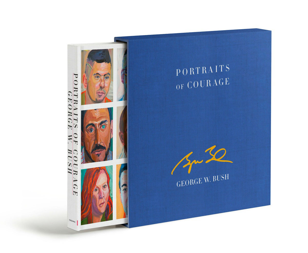 Portraits of Courage Deluxe Signed Edition under one cover eleven stories