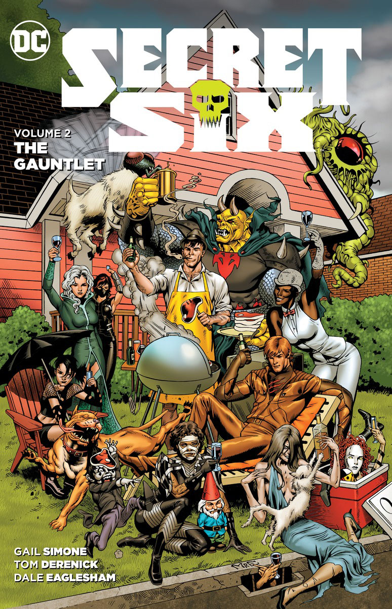 Secret Six Vol. 2: The Gauntlet last templar vol 3 the the sunken church