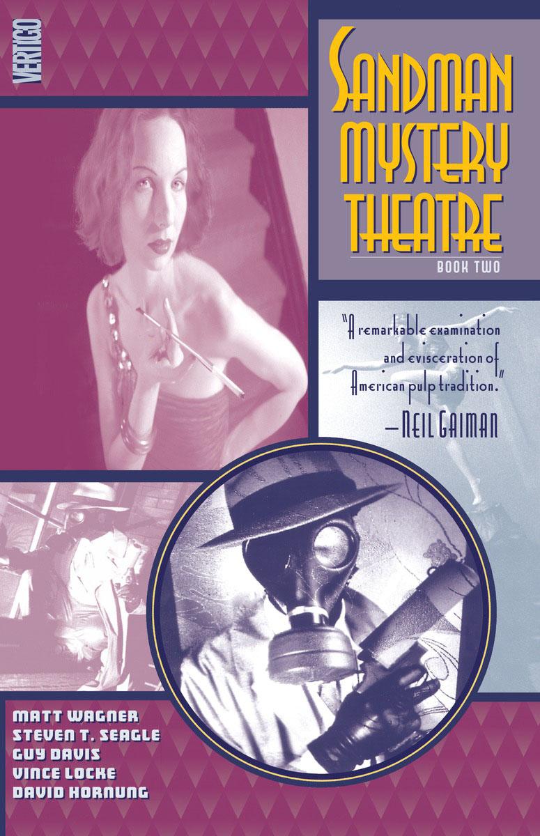 Sandman Mystery Theatre Book Two theatre show stker book