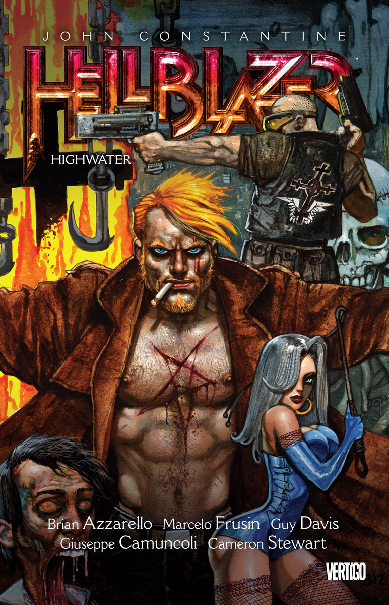John Constantine, Hellblazer Vol. 15: Highwater azzarello brian sm for tomorrow