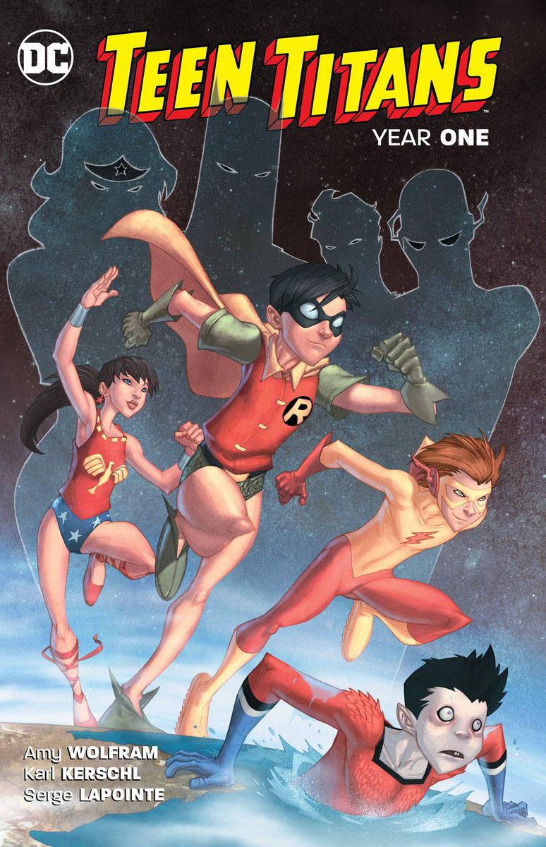 Teen Titans: Year One teen titans earth one volume 2