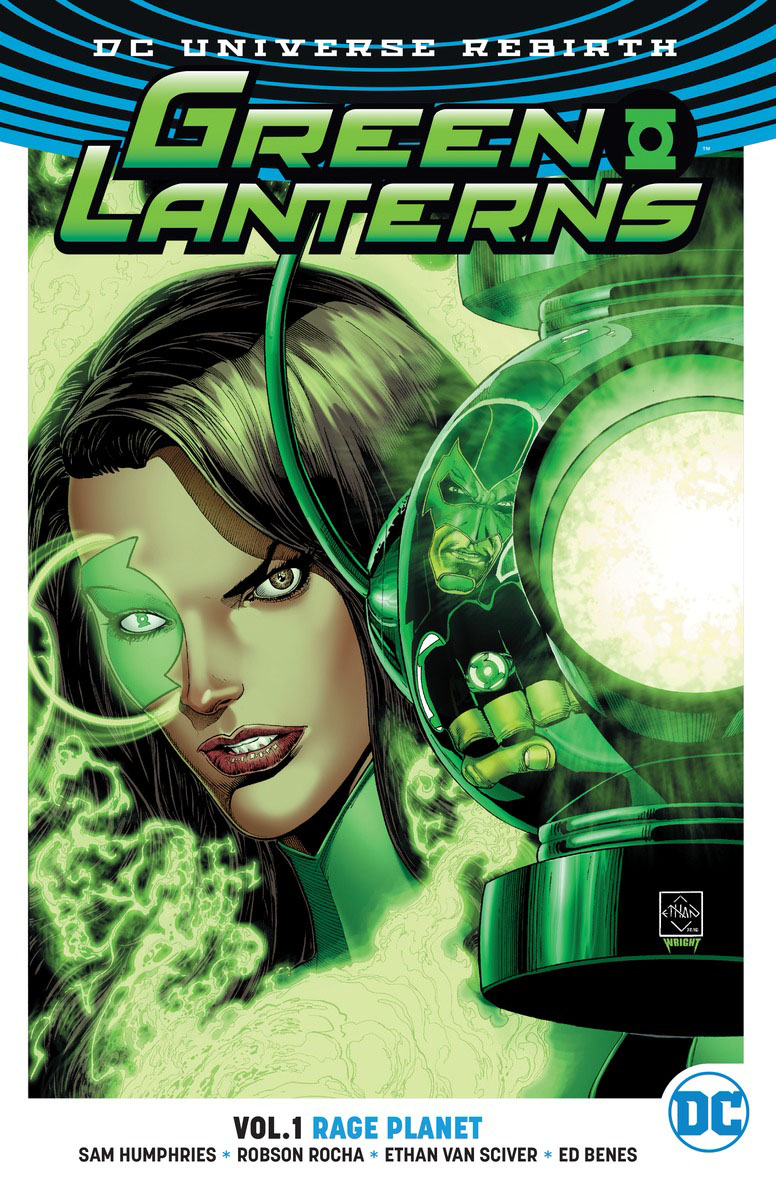 Green Lanterns Vol. 1: Rage Planet (Rebirth) green arrow vol 1 the death and life of oliver queen rebirth