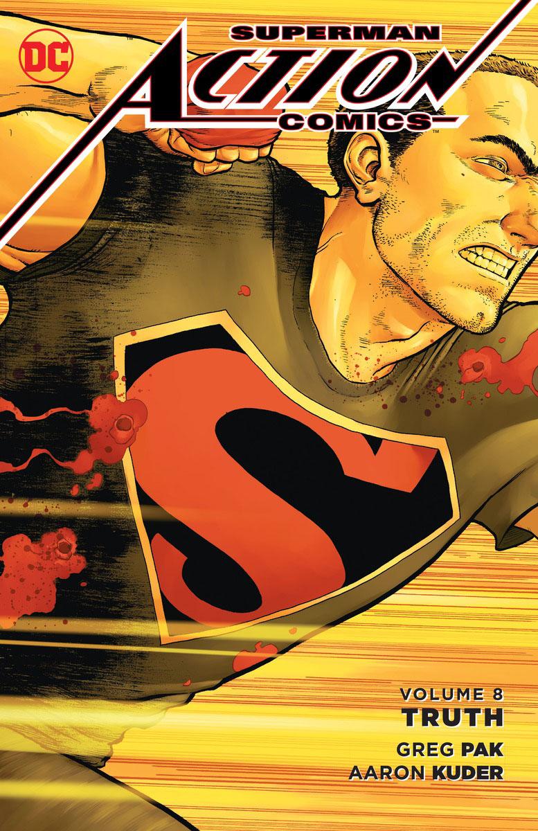 Superman: Action Comics Vol. 8: Truth pak greg superman action comics v5