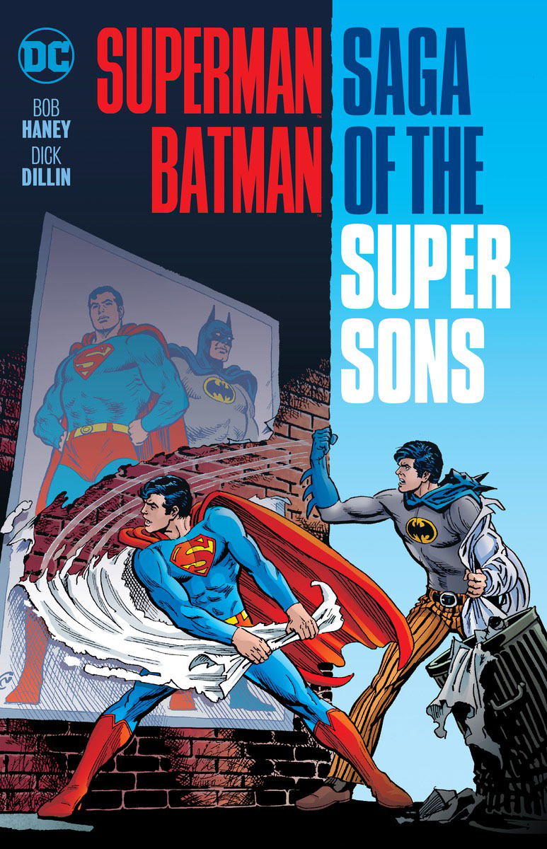Superman/Batman: Saga of the Super Sons (New Edition) лампочка gauss elementary 6w e14 220v 2700k ld53116