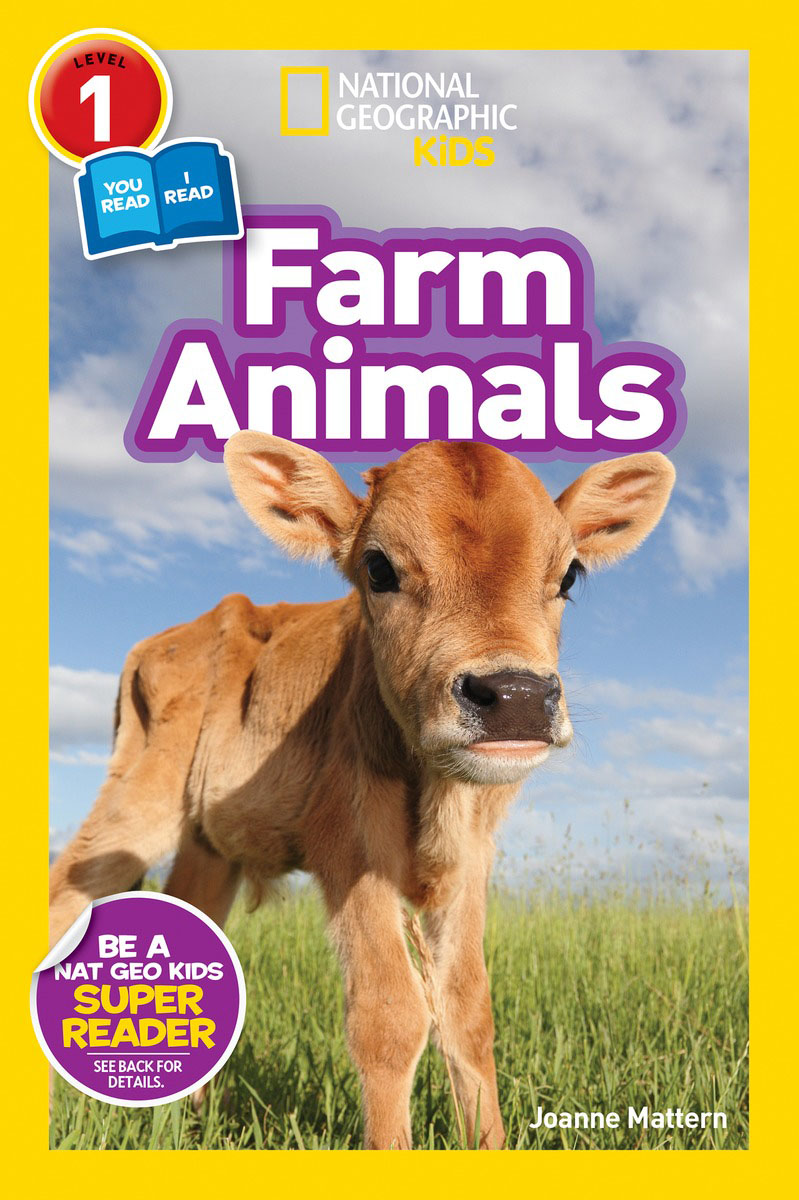 National Geographic Readers: Farm Animals (Level 1 Co-reader) national geographic readers skyscrapers level 3