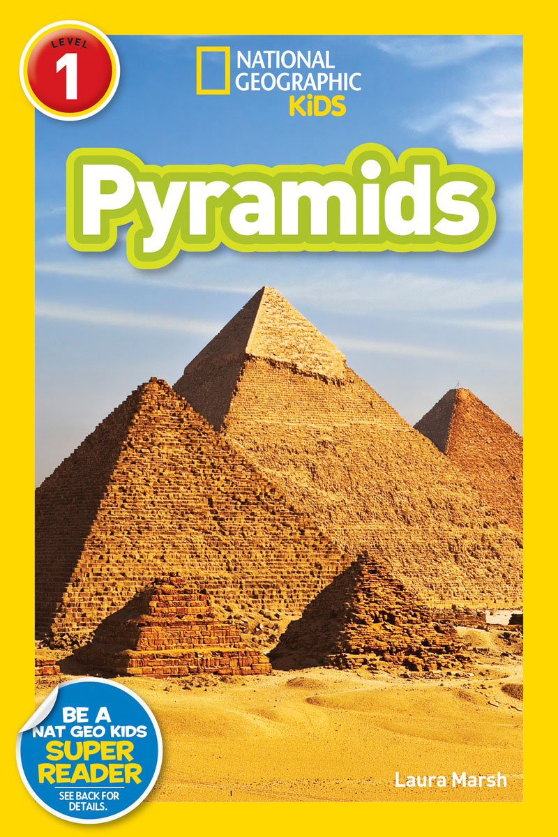 National Geographic Readers: Pyramids (Level 1) national geographic readers great migrations butterflies
