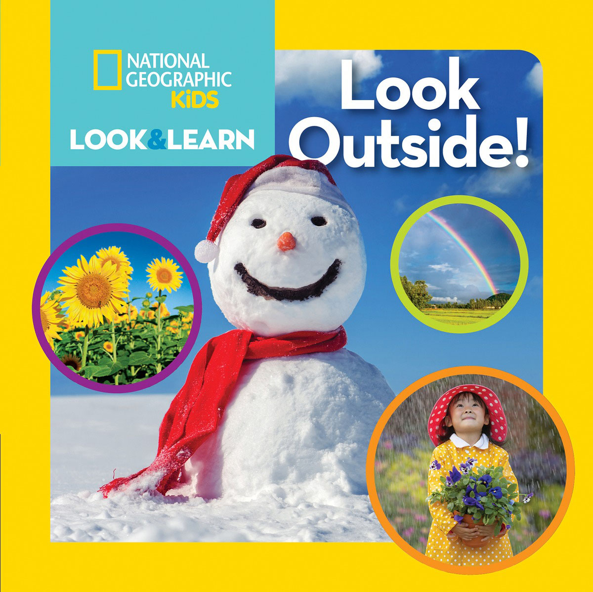 National Geographic Kids Look and Learn: Look Outside! to reach the clouds page 5