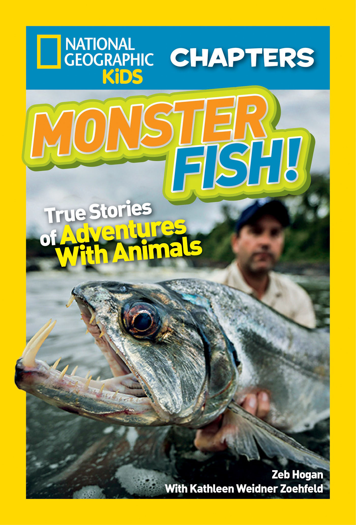 National Geographic Kids Chapters: Monster Fish! national geographic kids chapters courageous canine