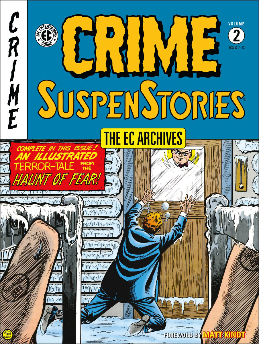 The EC Archives: Crime Suspenstories Volume 2 the ec archives two fisted tales volume 3