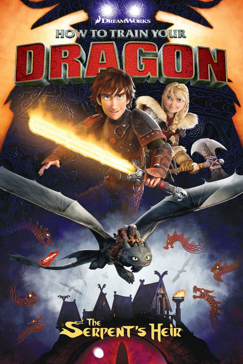 How to Train Your Dragon: The Serpent's Heir karin kukkonen studying comics and graphic novels