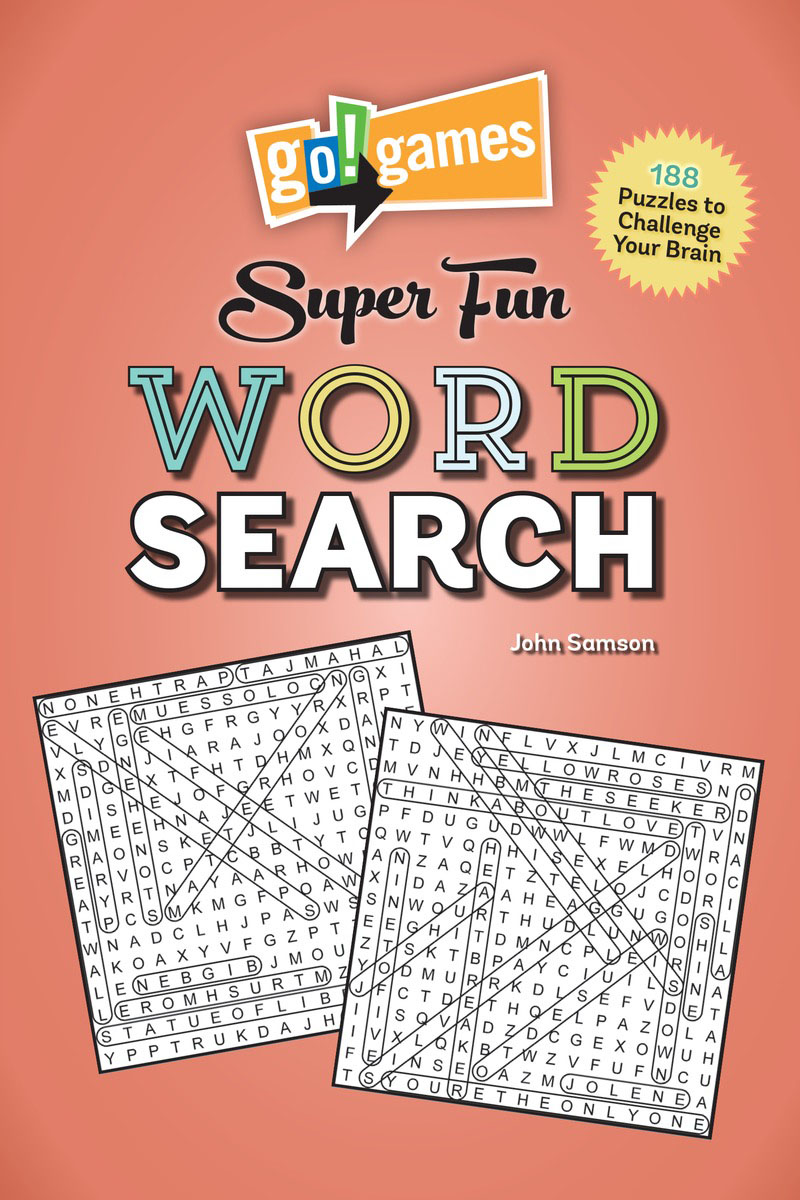 Go!Games Super Fun Word Search go games the sudoku challenge