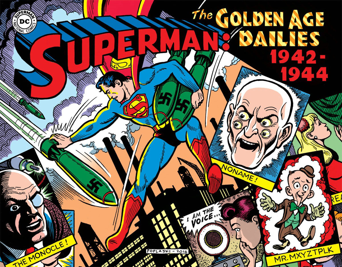 Superman: The Golden Age Newspaper Dailies: 1942-1944