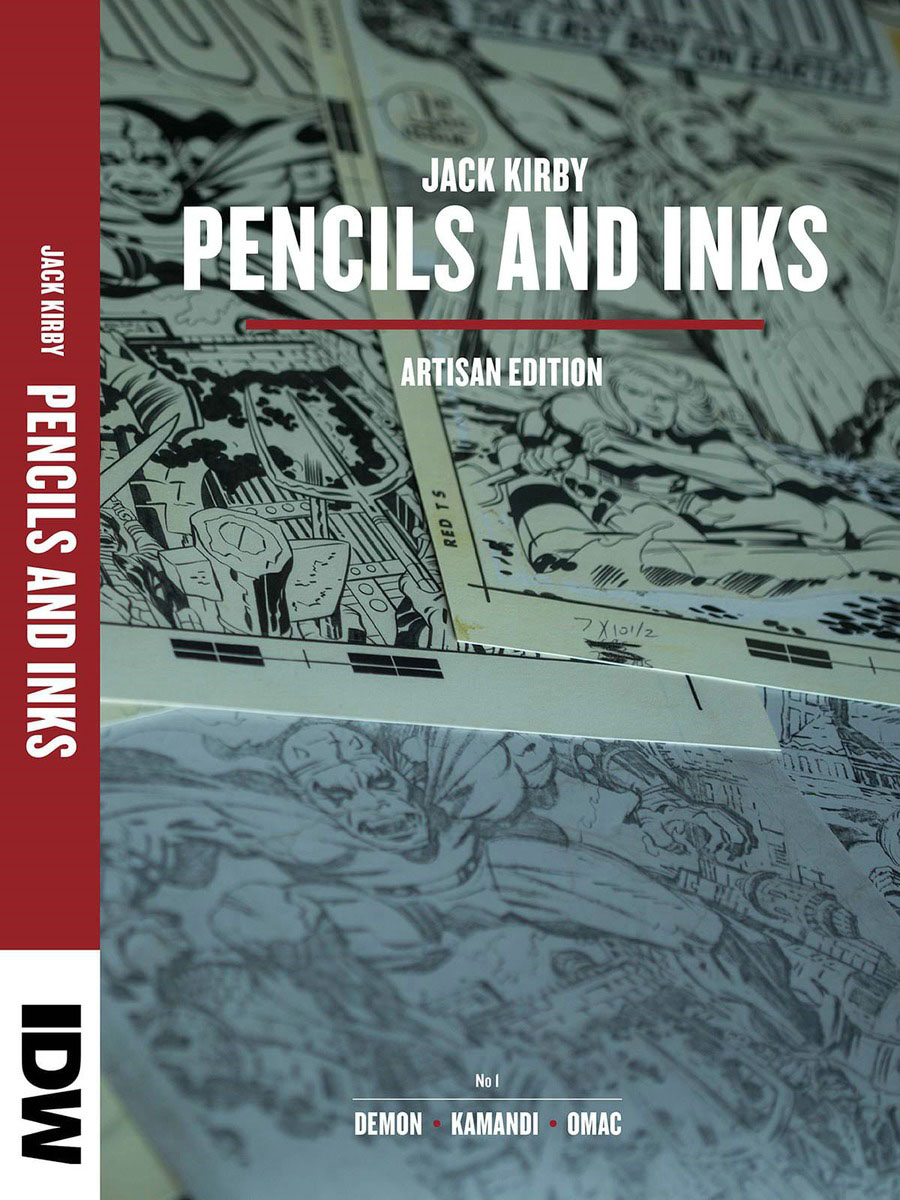 Jack Kirby Pencils and Inks Artisan Edition цена