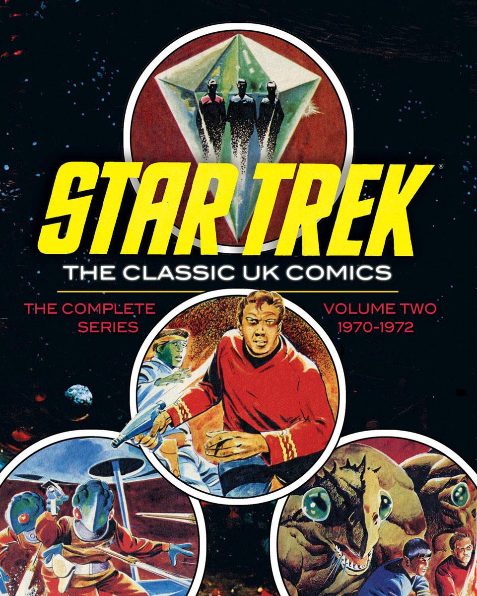 Star Trek: The Classic UK Comics Volume 2 the thing classic volume 1