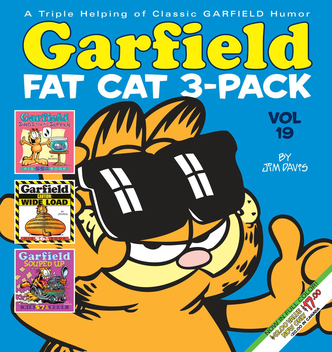 Garfield Fat Cat 3-Pack #19 garfield fat cat 3 pack volume 9