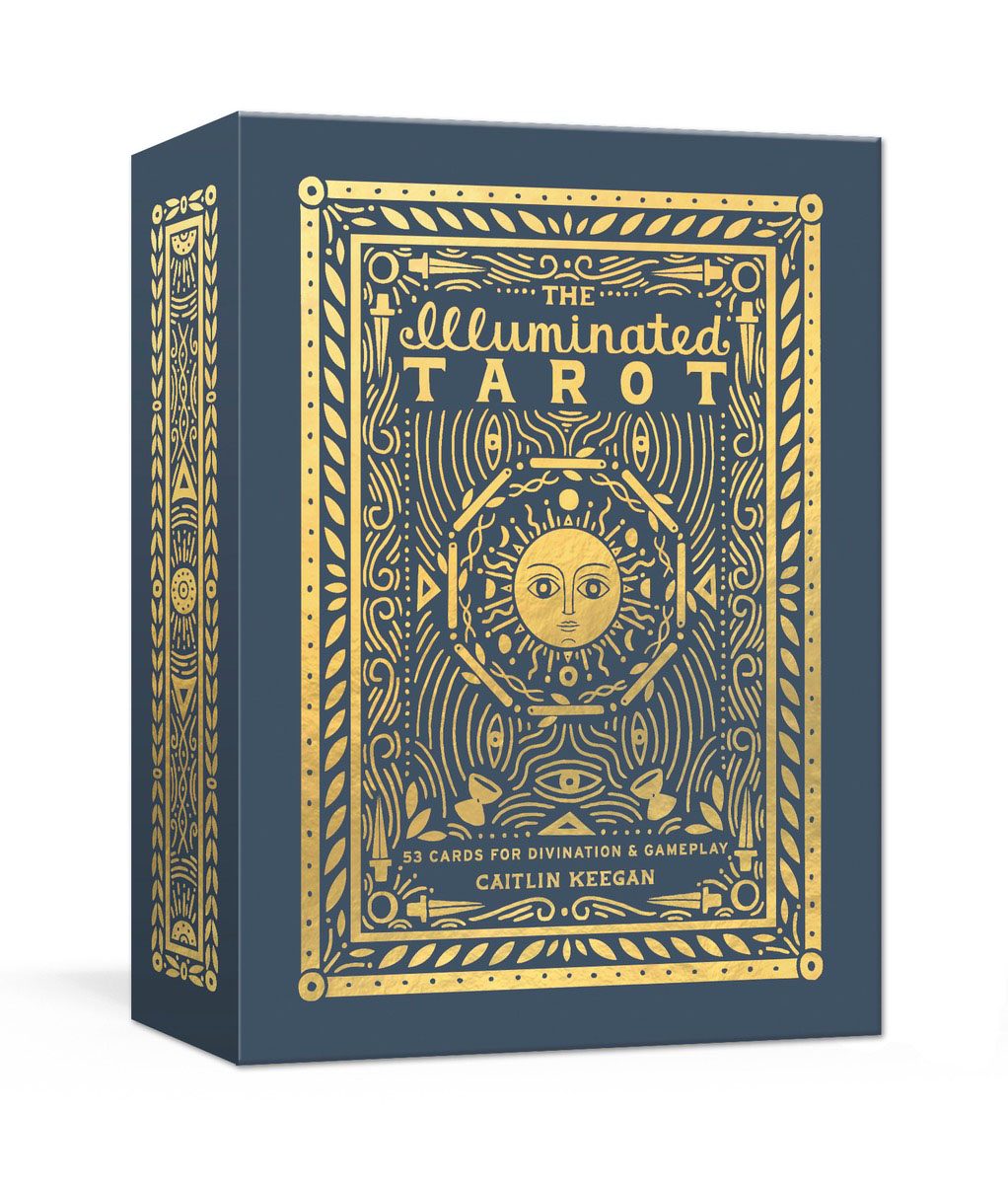 The Illuminated Tarot карты таро the magician universal waite tarot deck