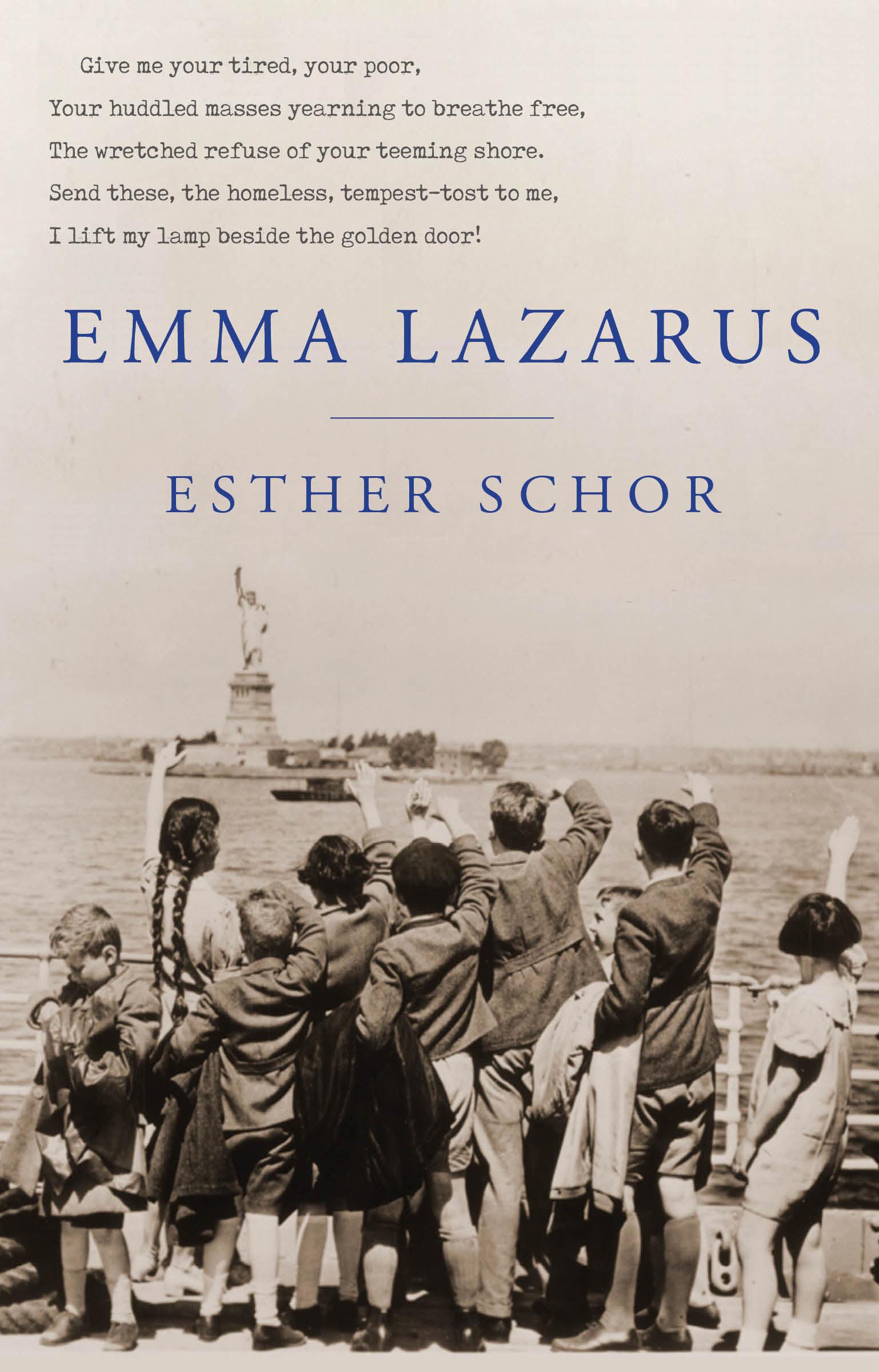 Emma Lazarus a new literary history of america