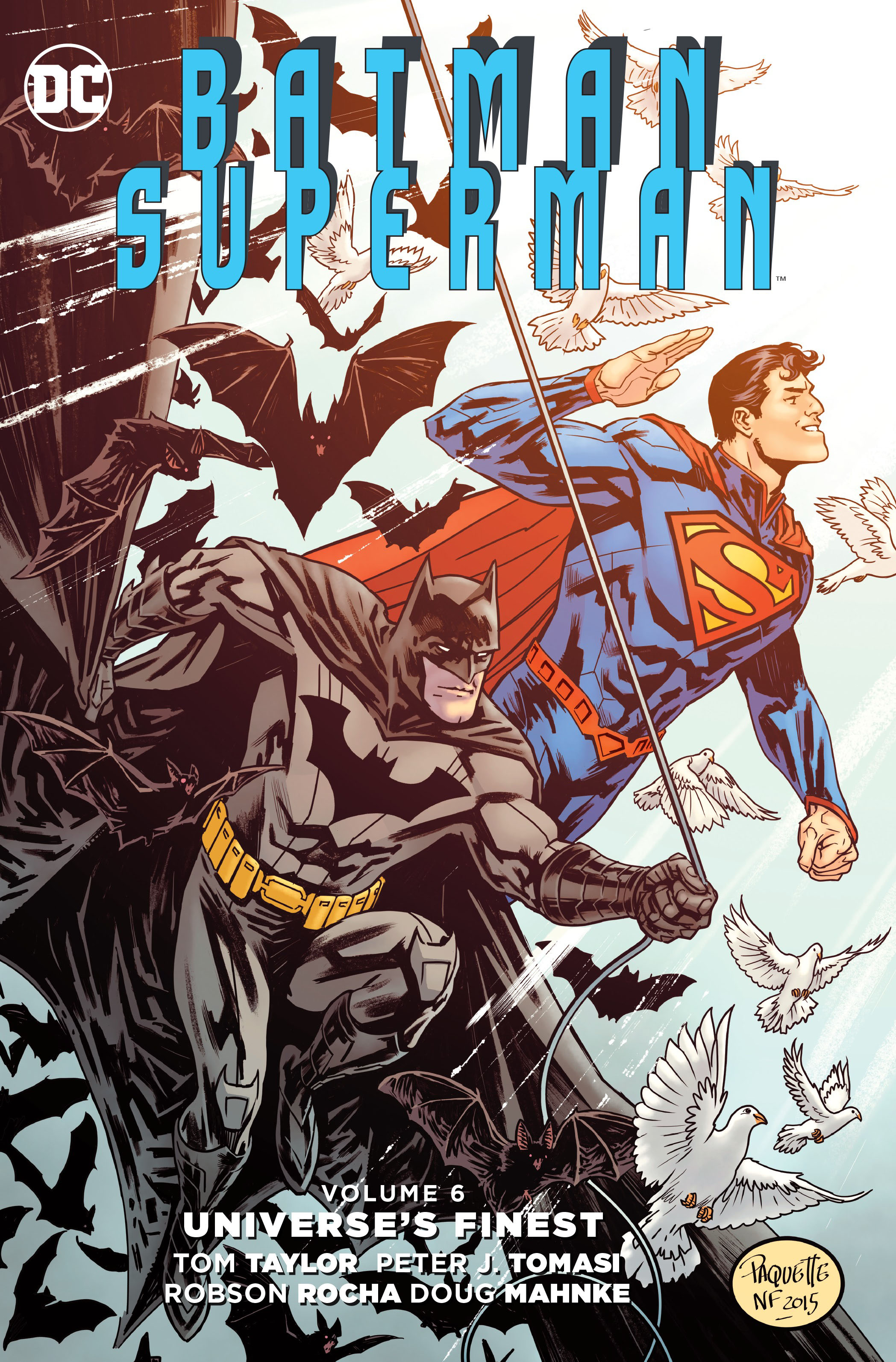 Batman/Superman Vol. 6: Universe's Finest greg pak batman superman volume 1 cross world